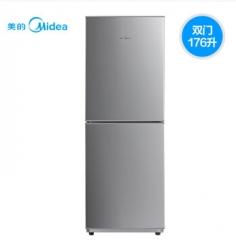 美的 (Midea) 冰箱176升家用双门电冰箱 节能保鲜两门冷藏冷冻BCD-176M
