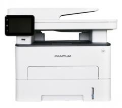 奔图(PANTUM) M7300FDN黑白激光多功能四合一打印机(3.5英寸触摸屏 U盘 安全打印 复印 打印 扫描 传真)
