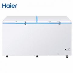 海尔/Haier  BC/BD-519HCZ 电冰箱  商用大容量 冷柜卧式 顶开双门冰柜