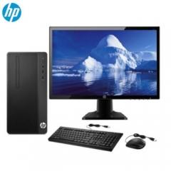 惠普/HP 288 Pro G3 MT台式计算机 (i3-7100/4G/1TB+128G固态/集显/DVD刻录/WIN10/标配19.5寸显示器)
