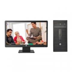 惠普/HP  288 Pro G3 MT台式计算机(i5-7500/4G/1TB+128G固态/集显/DVD刻录/WIN10/标配23.8寸显示器)